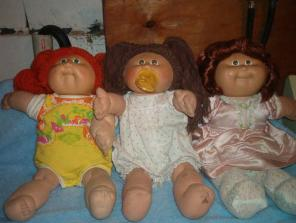 2 Cabbage Patch Dolls,1 Cornsilk Cabbage Patch Doll............. - $5