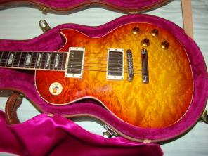 Custom Shop Birdseye maple 1996 Les Paul - $5 500