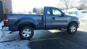 NAVY BLUE PICKUP TRUCK /ford f150/